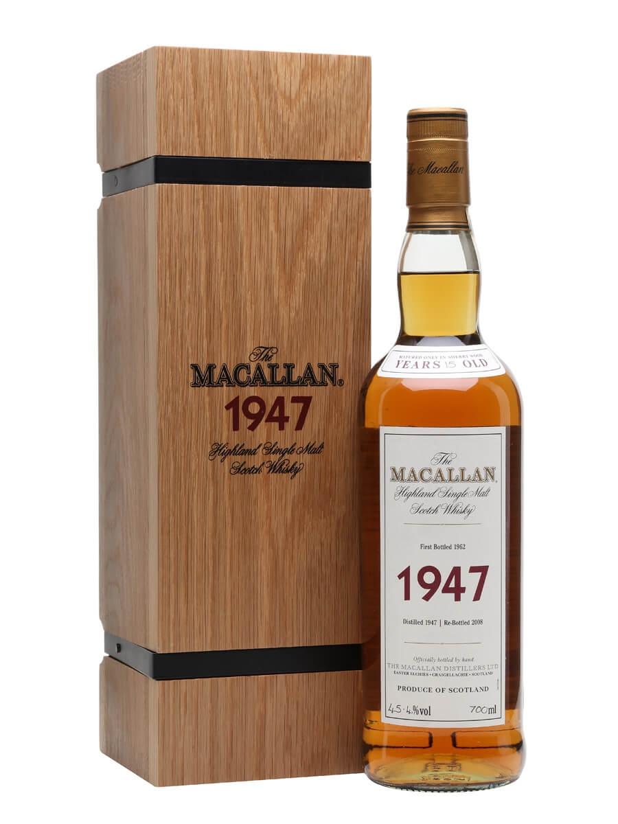 Macallan 1947 / 15 Year Old / Fine & Rare
