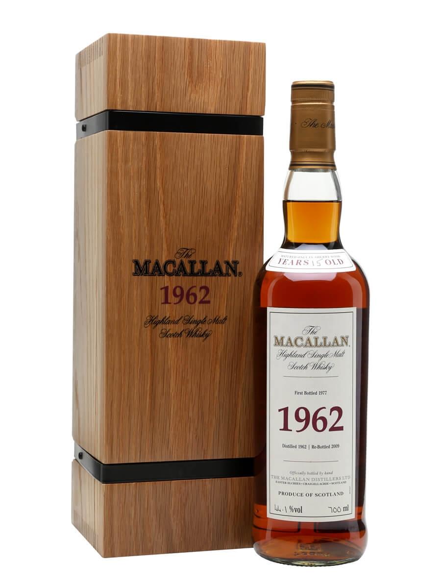 Macallan 1962 / 15 Year Old / Fine & Rare
