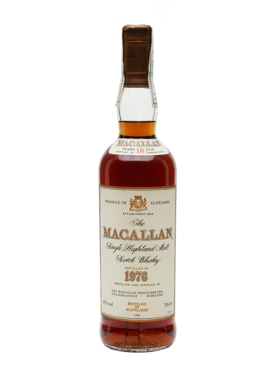 Macallan 1975 / 18 Year Old