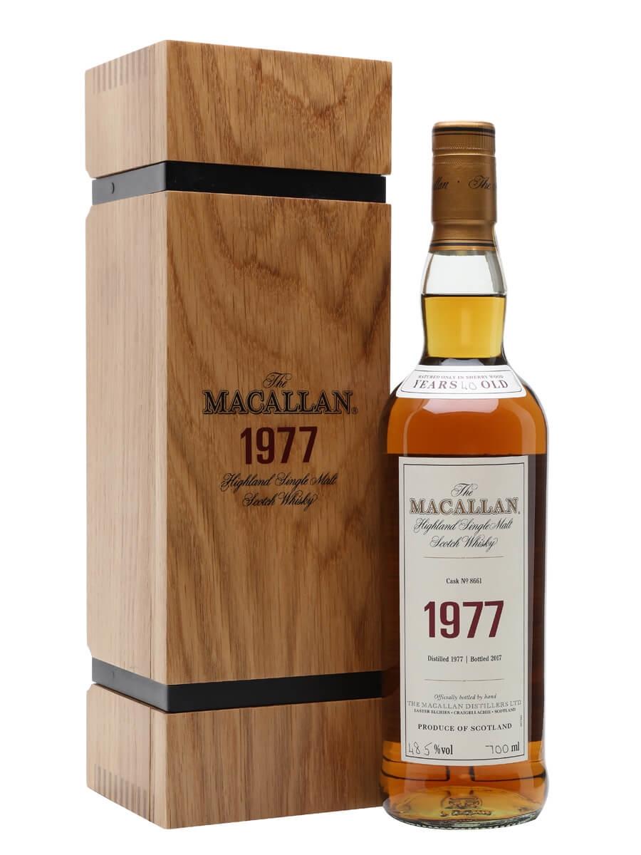 Macallan 1977 / Cask 8661 / Fine & Rare