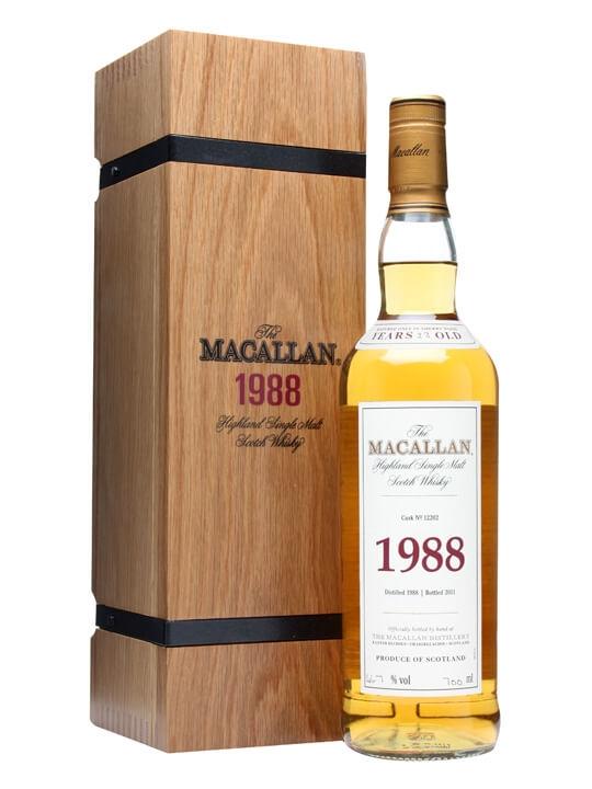 Macallan 1988 / 23 Year Old / Fine & Rare
