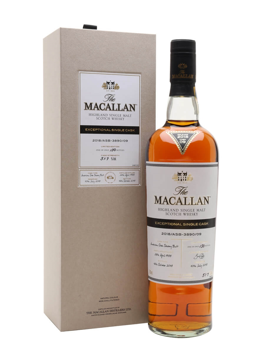 Macallan 1988 / 30 Year Old / 2018/ASB-3890/09