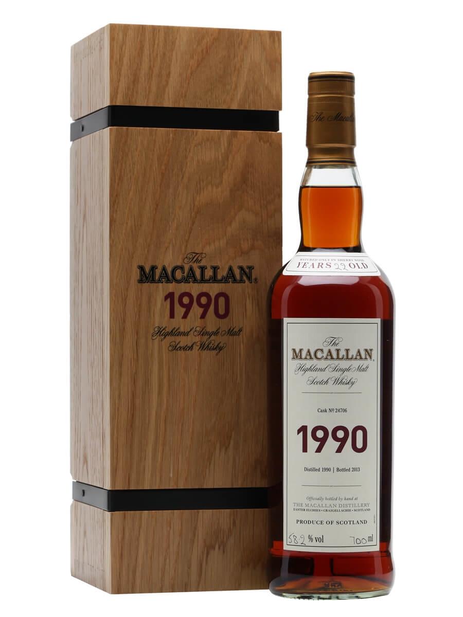Macallan 1990 / 22 Years Old / Fine & Rare