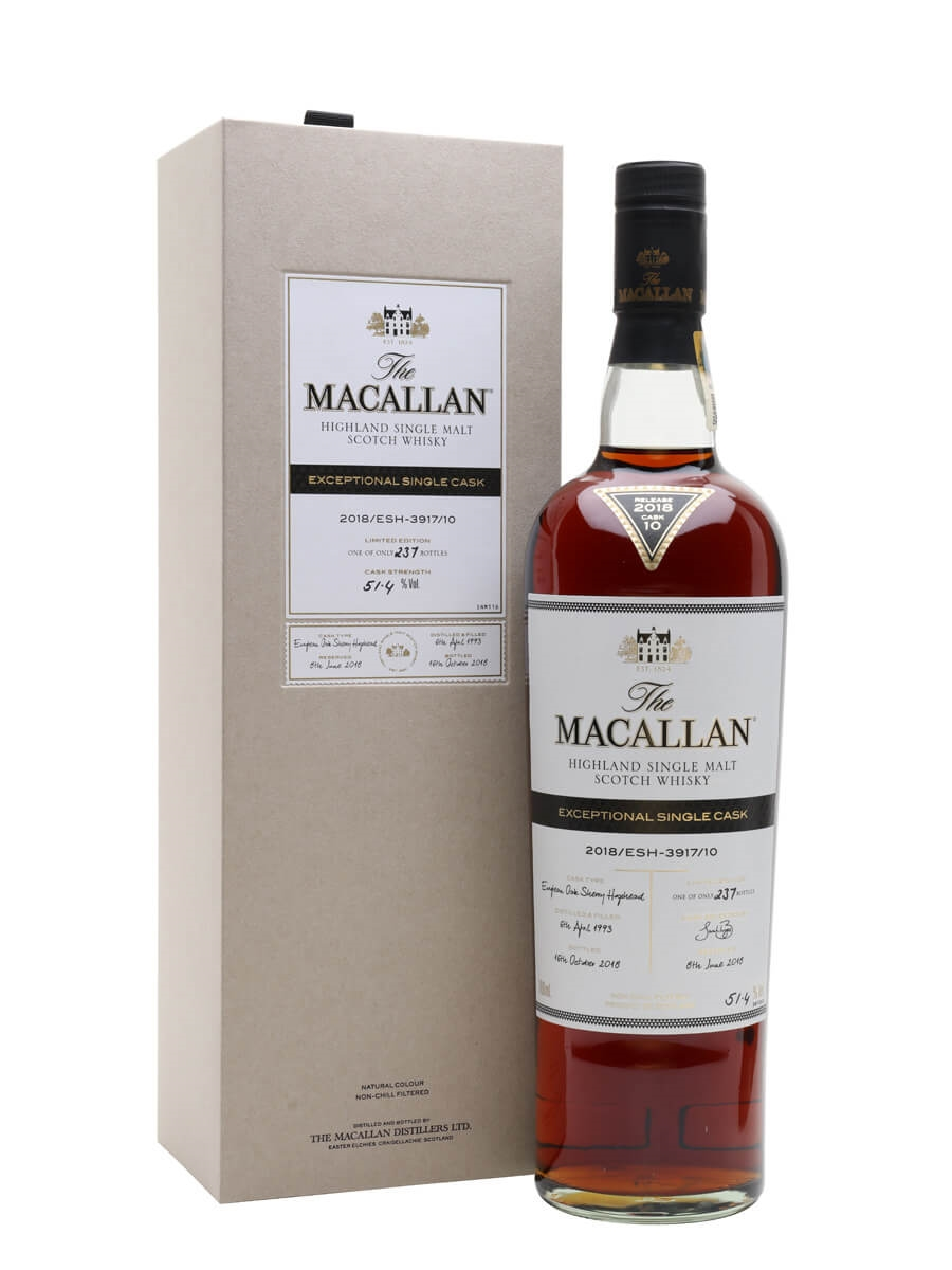 Macallan 1993 / 25 Year Old / 2018/ESH-3917/10