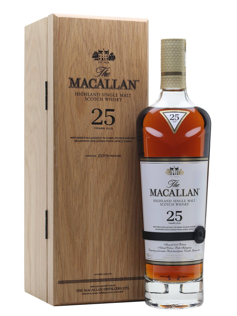 Macallan 25 Year Old / Sherry Oak / 2019 Release