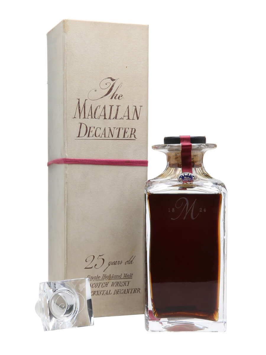 Macallan 1965 / 25 Year Old / Crystal Decanter