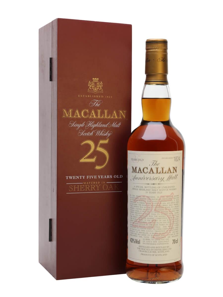 Macallan 25 Year Old / Sherry Oak
