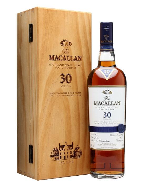 Macallan 30 Year Old / Sherry Oak / Pre-2018