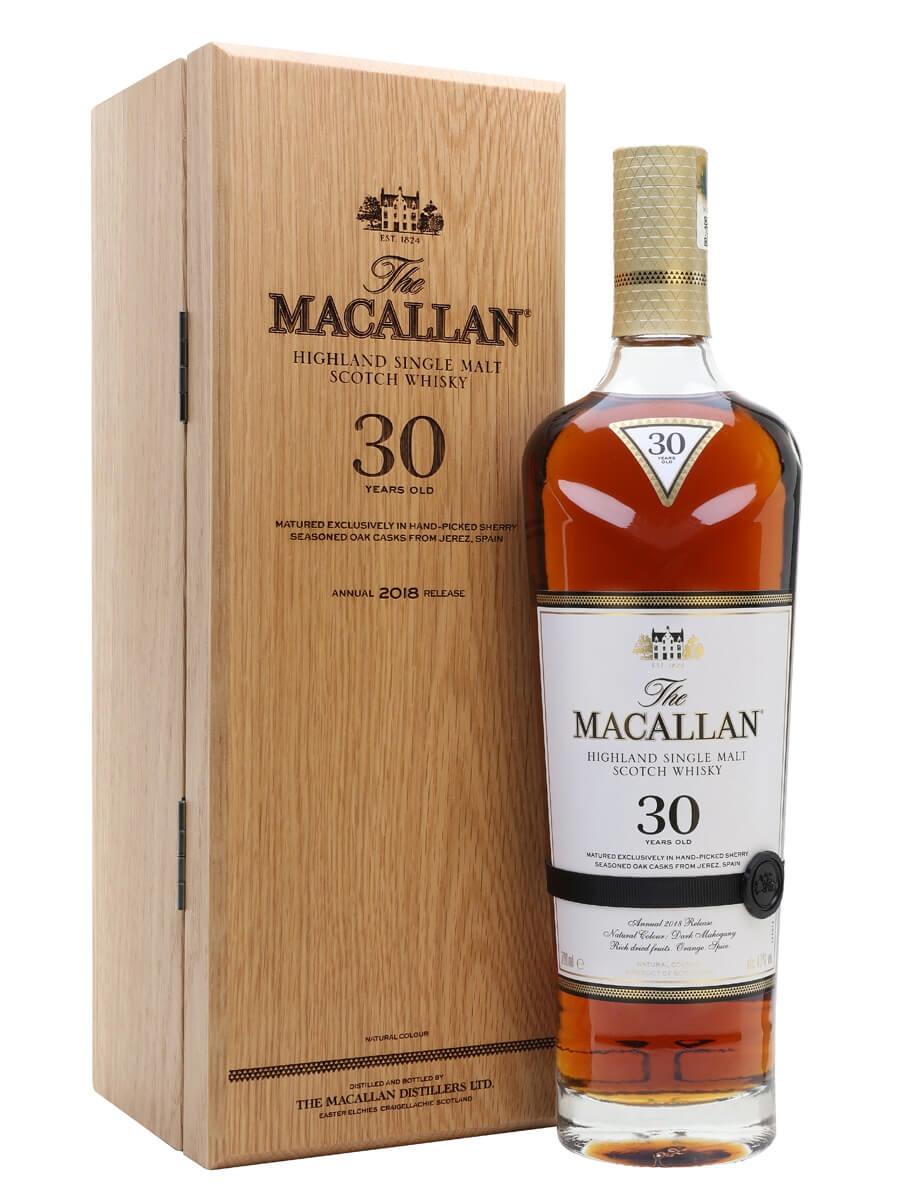 Macallan 30 Year Old / Sherry Oak / 2018 Release