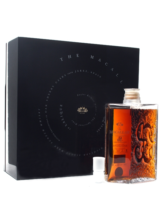 Macallan 62 Year Old / Lalique Decanter