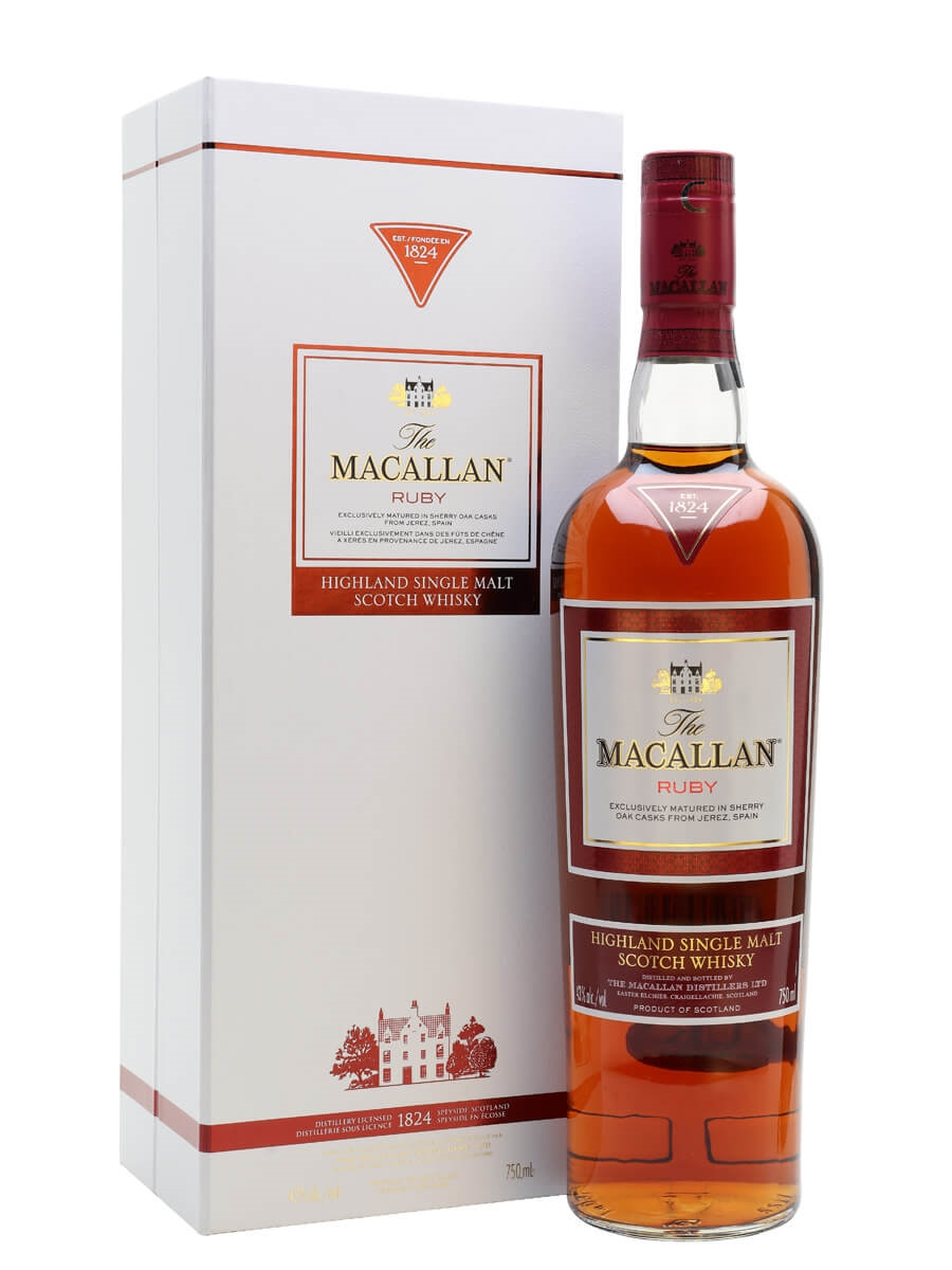 Macallan Ruby / The 1824 Series