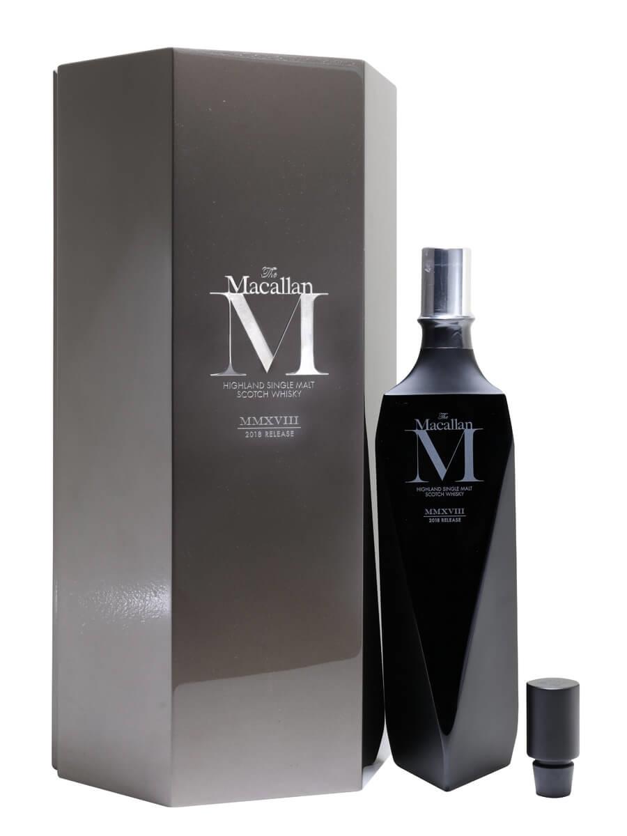 Macallan M Black Decanter / 2018 Release