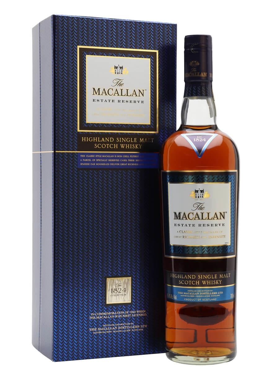 Macallan Estate Reserve / 1824 Collection