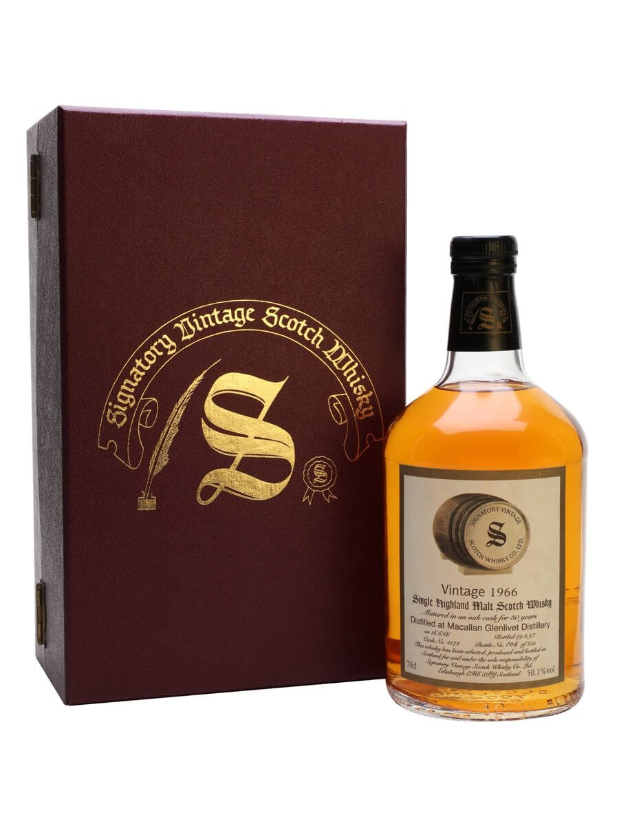 Macallan 1966 / 30 Year Old / Signatory