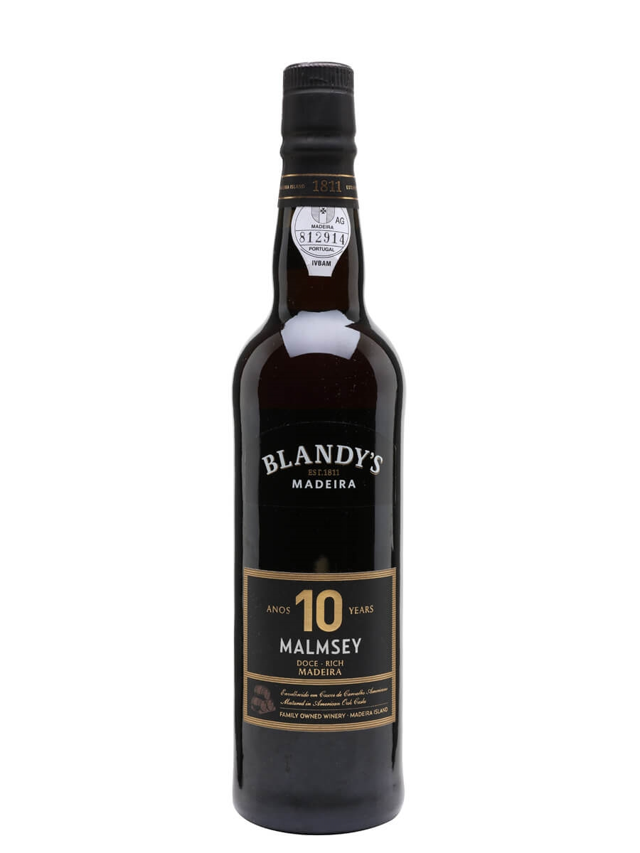 Blandy's Malmsey 10 Year Old Madeira