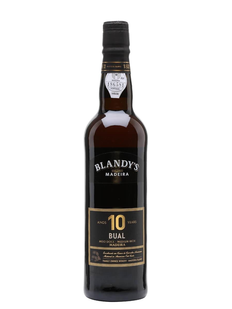 Blandy's 10 Year Old Bual Madeira