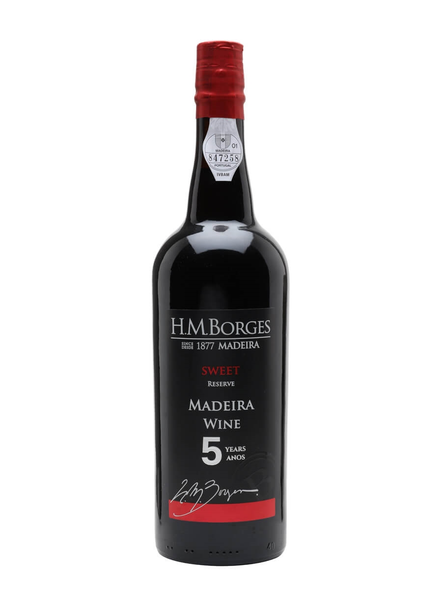 HM Borges 5 Year Old Reserva Sweet Madeira