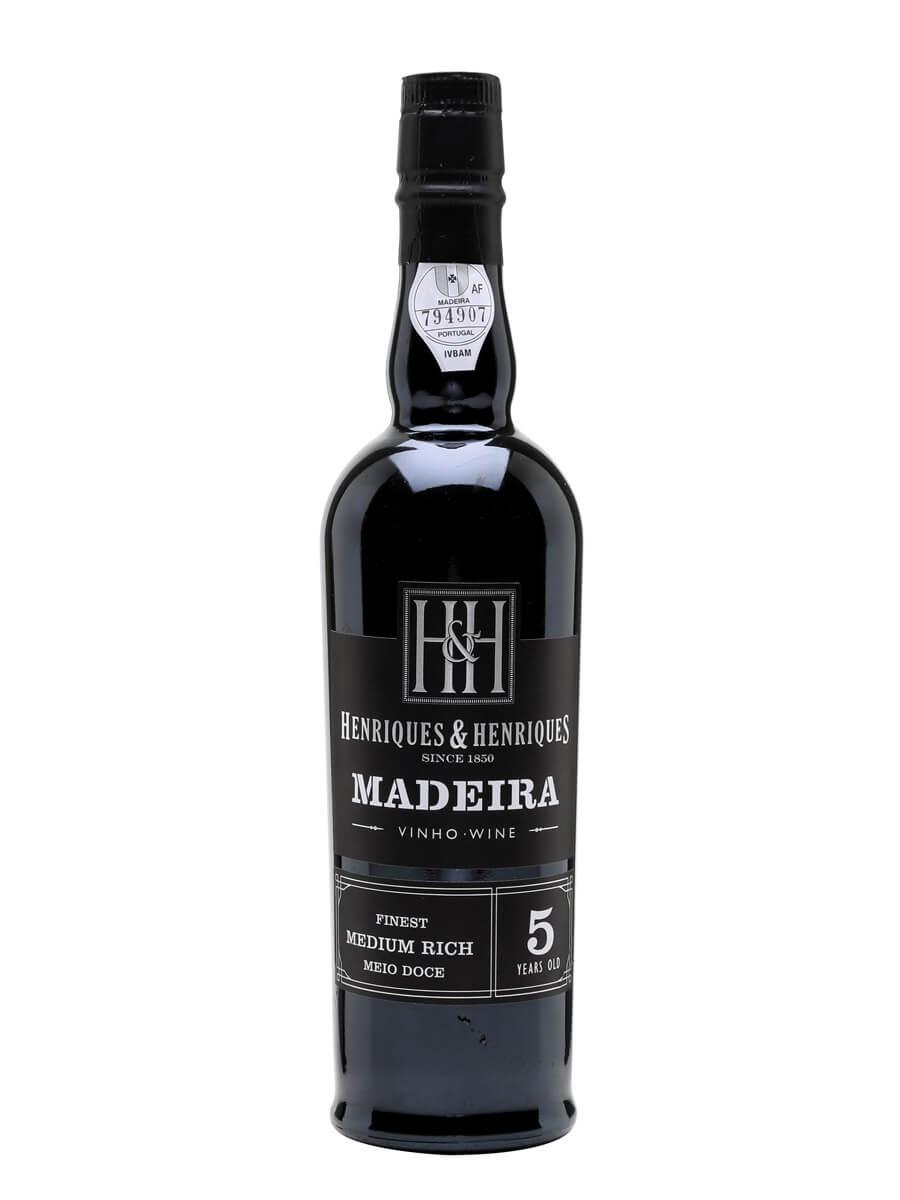 H&H Medium Rich Madeira / 5 Year Old