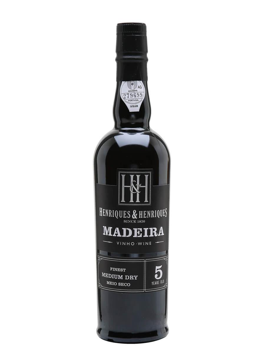 H&H Medium Dry Madeira / 5 Year Old