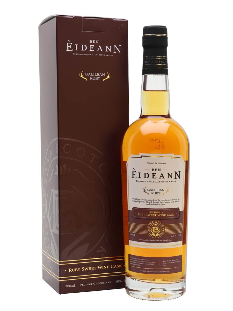 Ben Eideann Ruby Galilean Kosher Whisky / Sweet Red Wine Finish