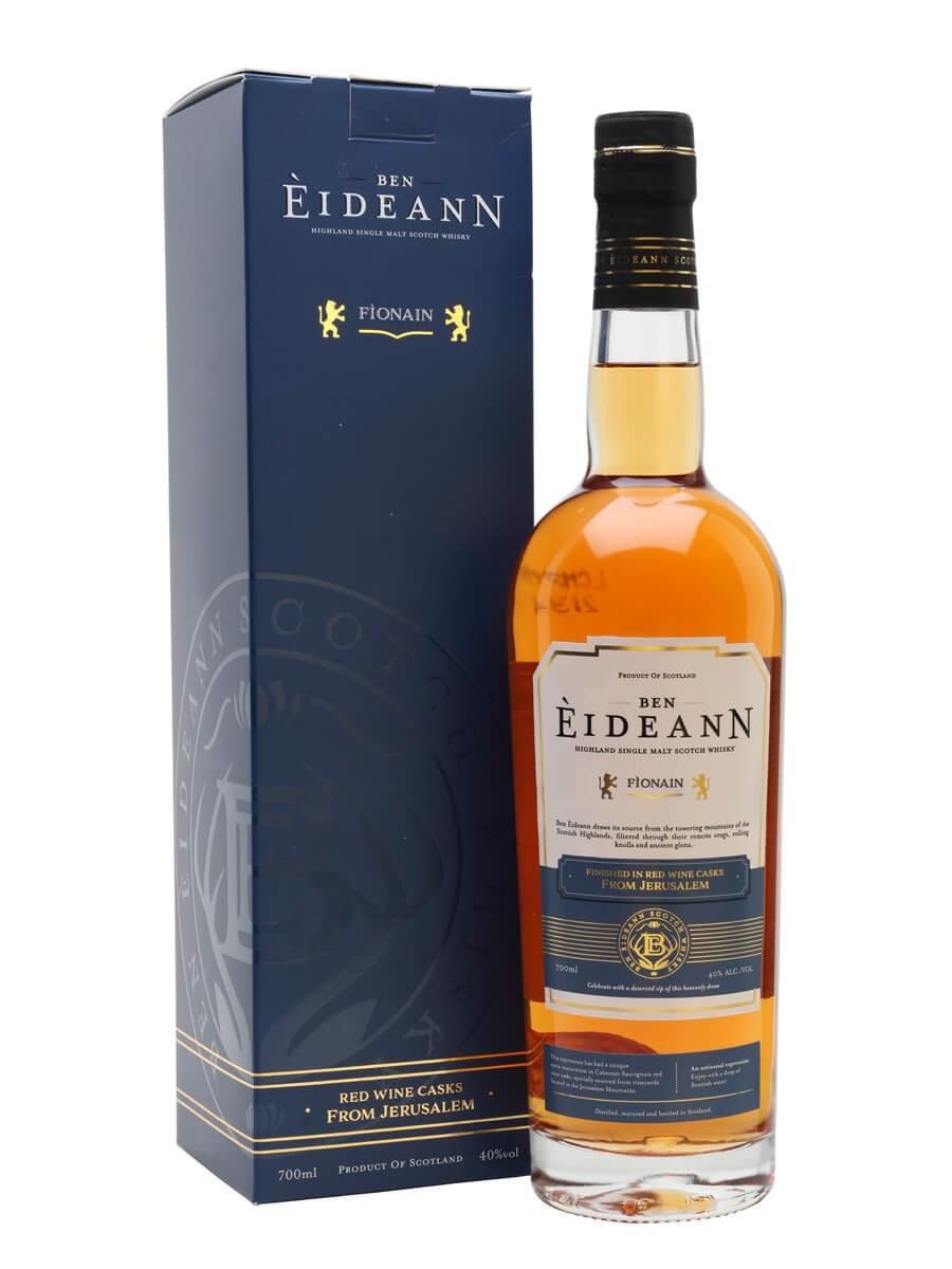 Ben Eideann Fionain Kosher Whisky / Red Wine Cask Finish