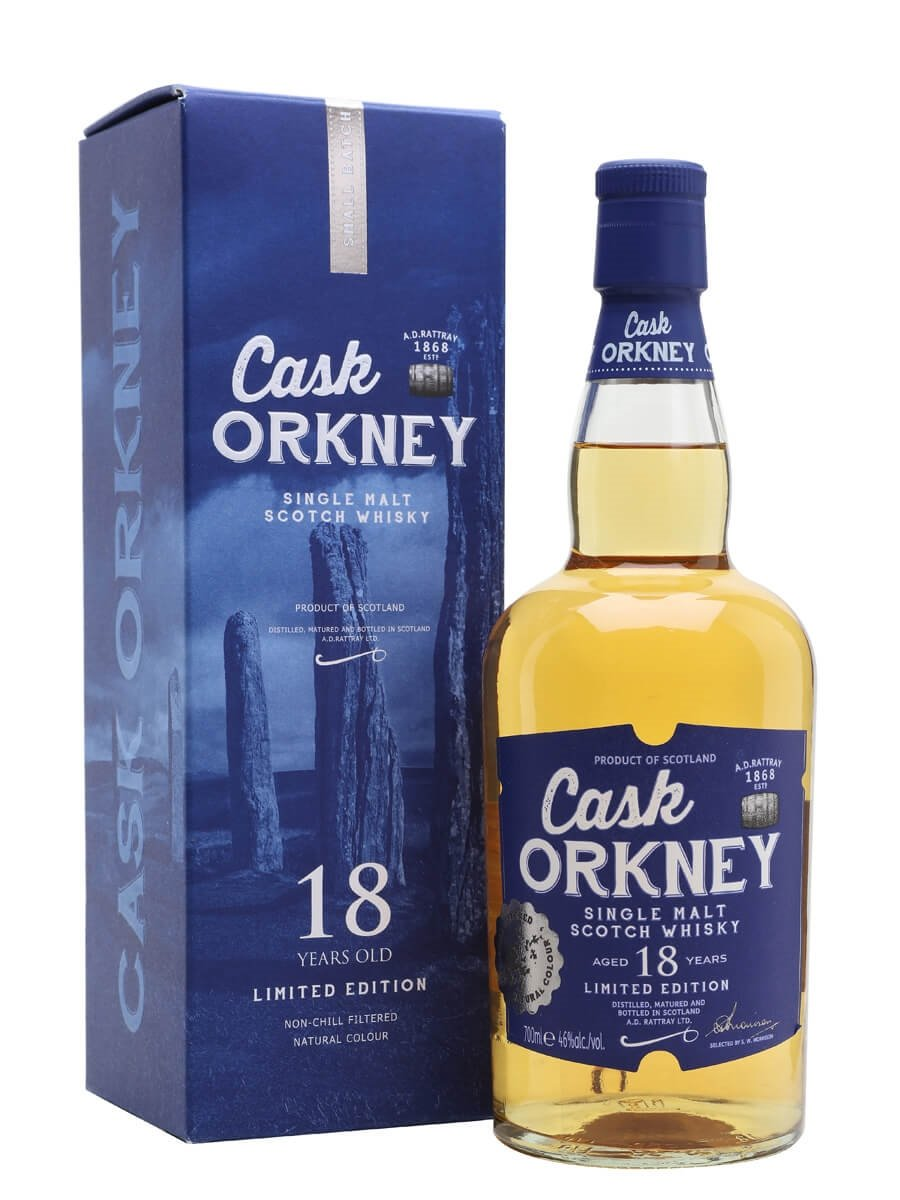 Cask Orkney 18 Year Old