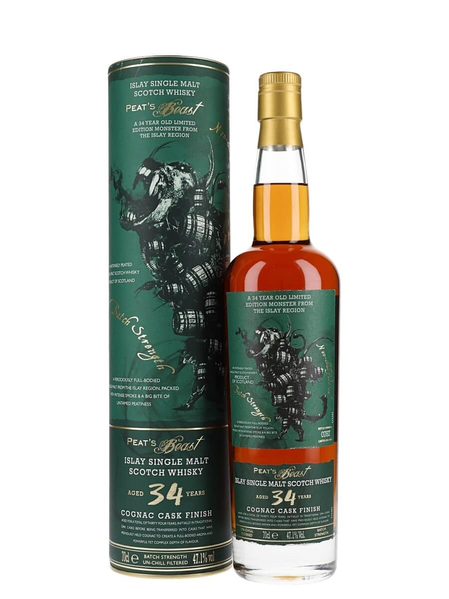 Peat's Beast 1985 / 34 Year Old / Cognac Finish
