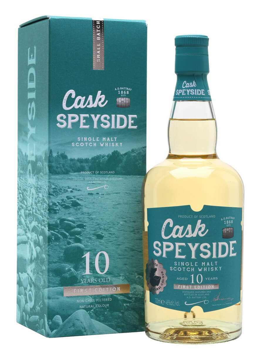 Cask Speyside 10 Year Old / Bourbon Cask / First Edition