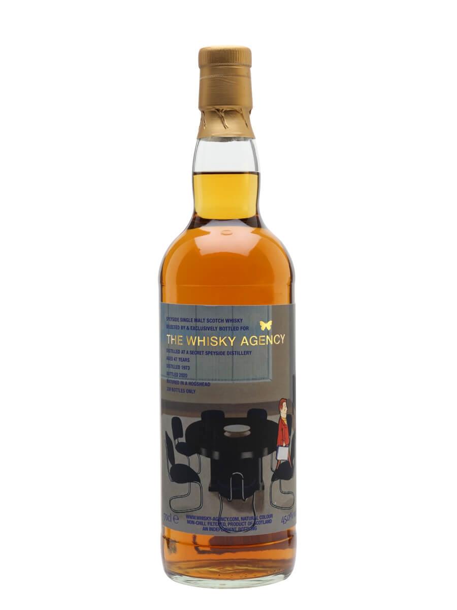 Secret Speyside Distillery 1973 / 47 Year Old / The Whisky Agency