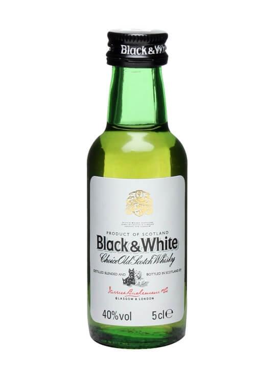 Black & White Blended Whisky / Miniature