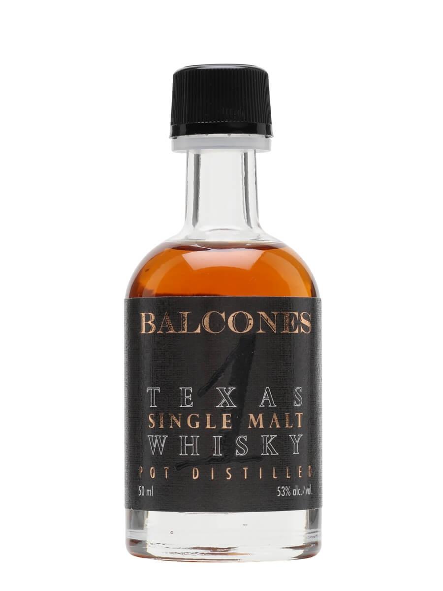 Balcones Texas Single Malt Miniature
