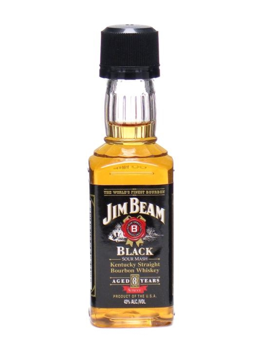 Jim Beam Black Label 8 Year Old Miniature The Whisky