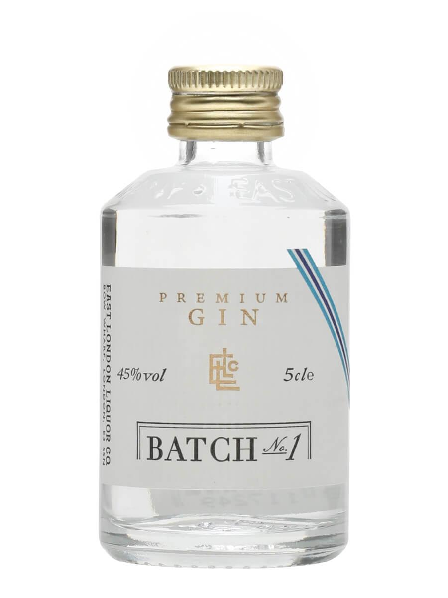 East London Liquor Premium Gin Batch 1 Miniature