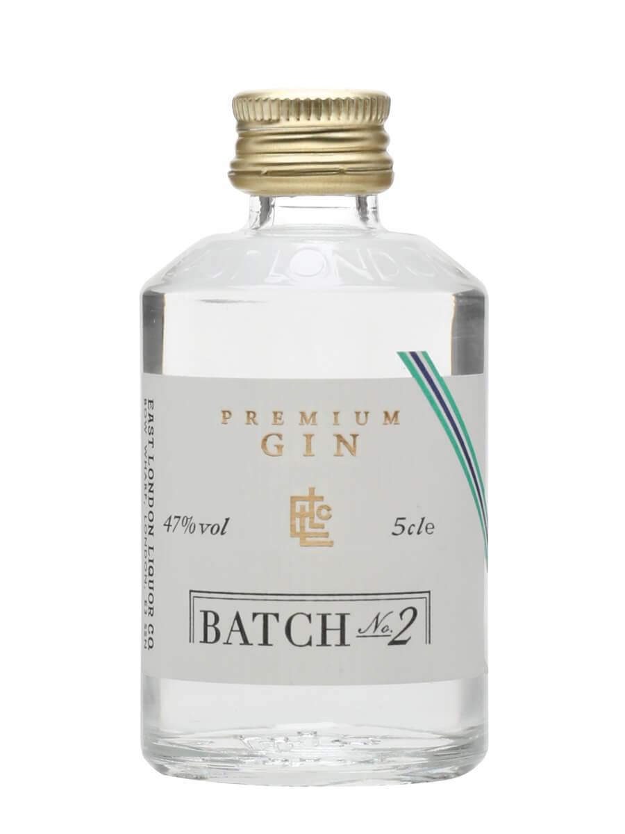 East London Liquor Premium Gin Batch 2 Miniature