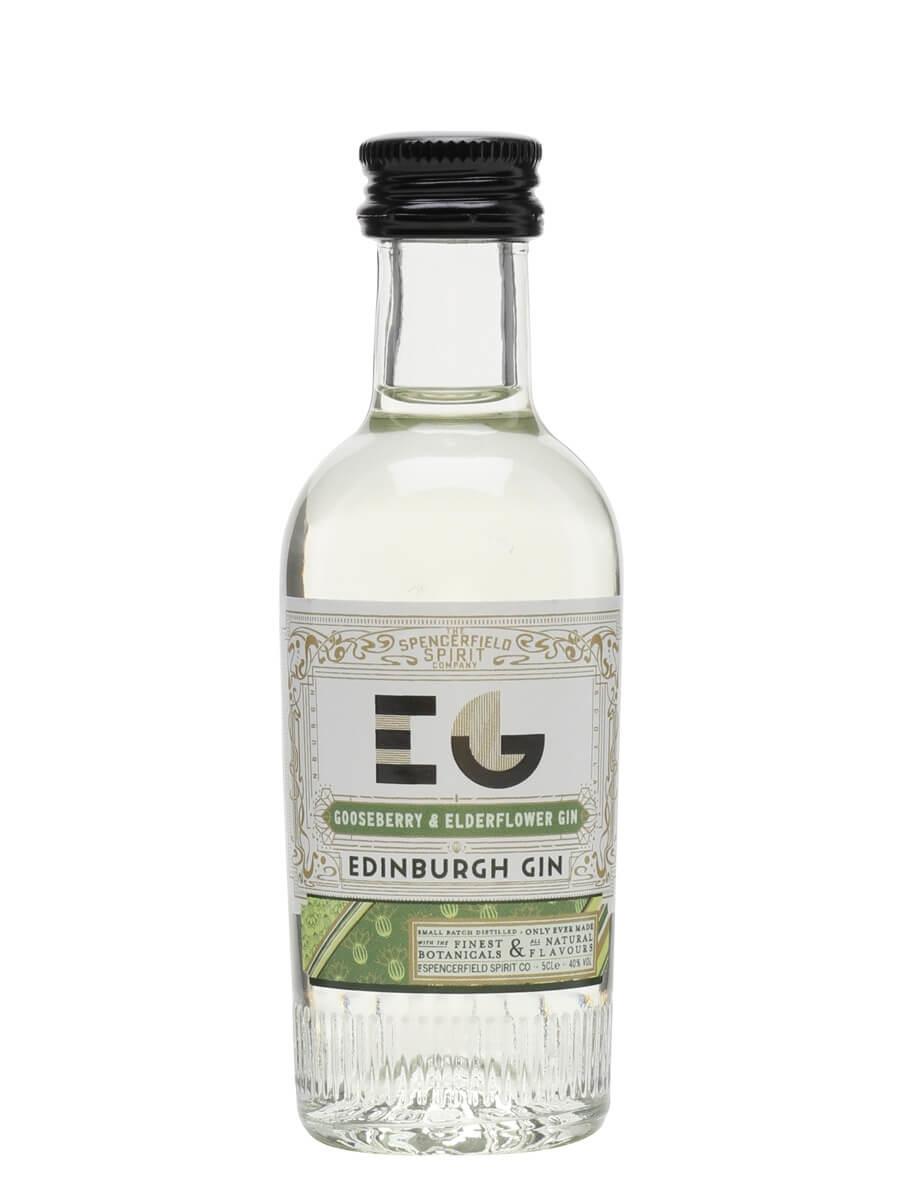 Edinburgh Gooseberry and Elderflower Gin / Miniature