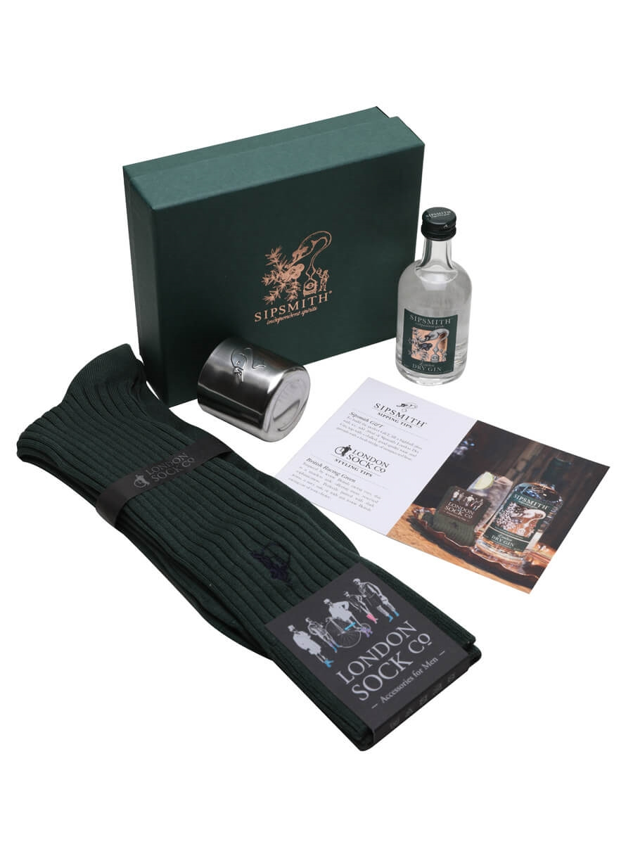 Sipsmith Sock Gift Set with London Dry Gin