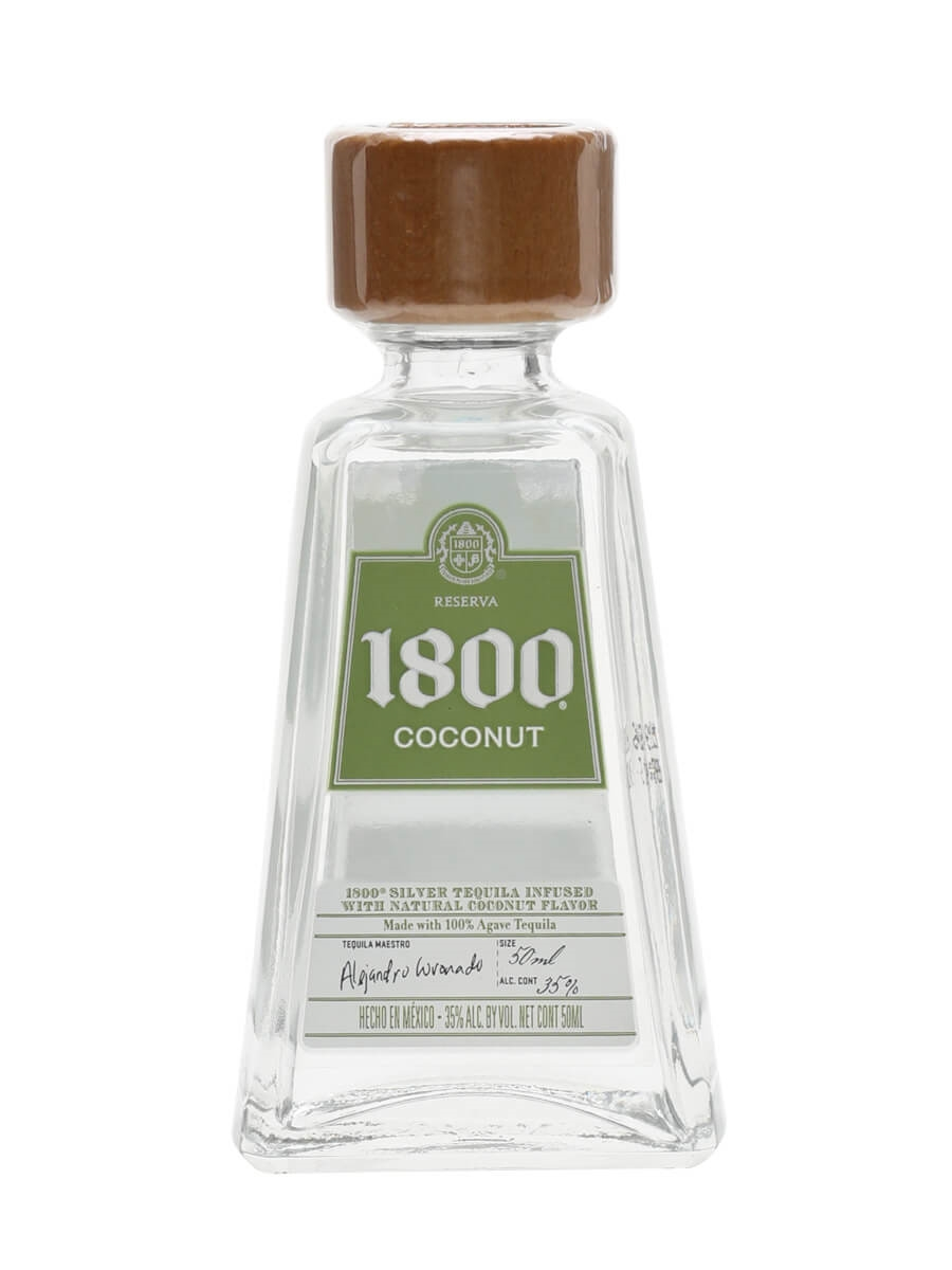 1800 Coconut Liqueur Miniature