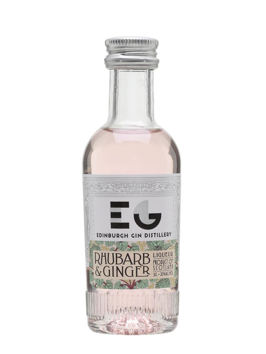 Edinburgh Gin Rhubarb and Ginger Liqueur / Miniature