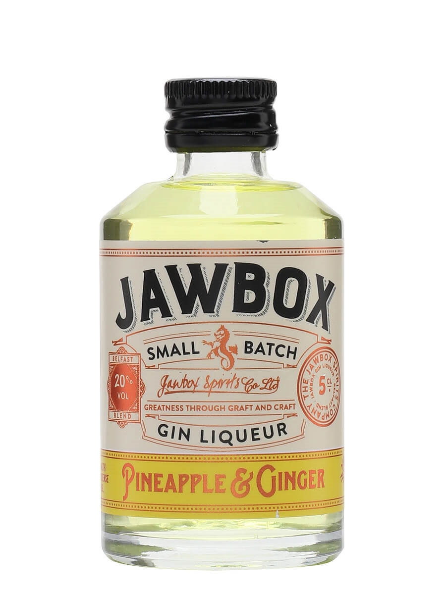 Jawbox Pineapple and Ginger Gin Liqueur / Miniature