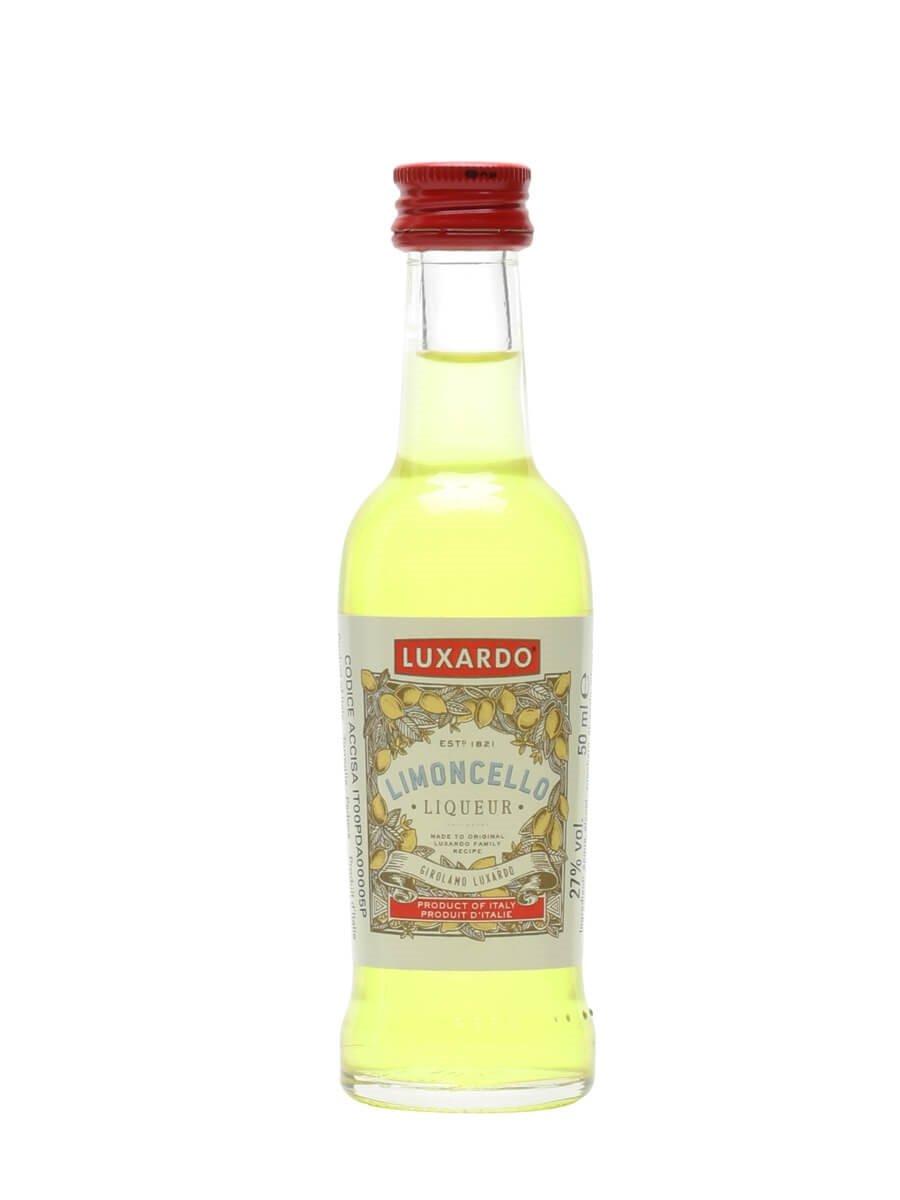 Luxardo Limoncello Liqueur Miniature : The Whisky Exchange