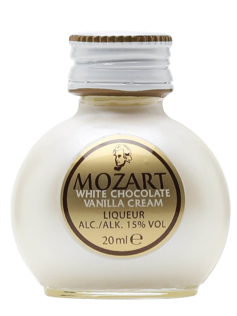 Mozart / White Chocolate Liqueur / Miniature