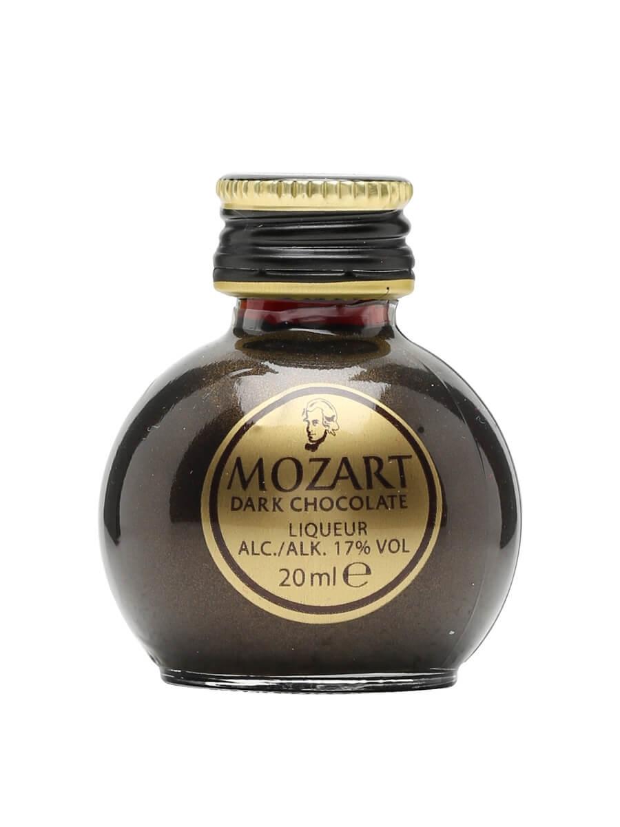 Mozart - Black Chocolate Liqueur - Miniature : The Whisky Exchange