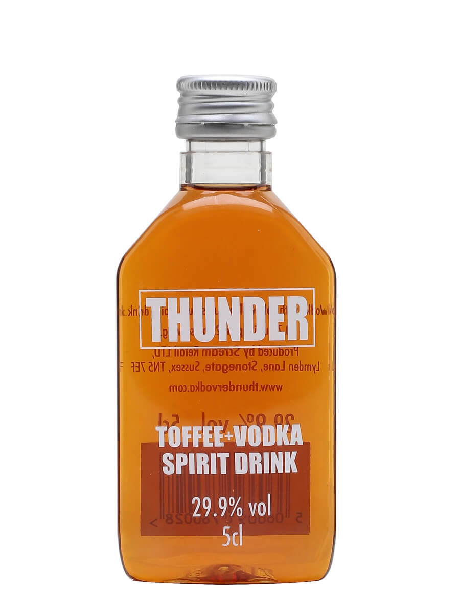 Thunder Toffee Vodka Liqueur Miniature