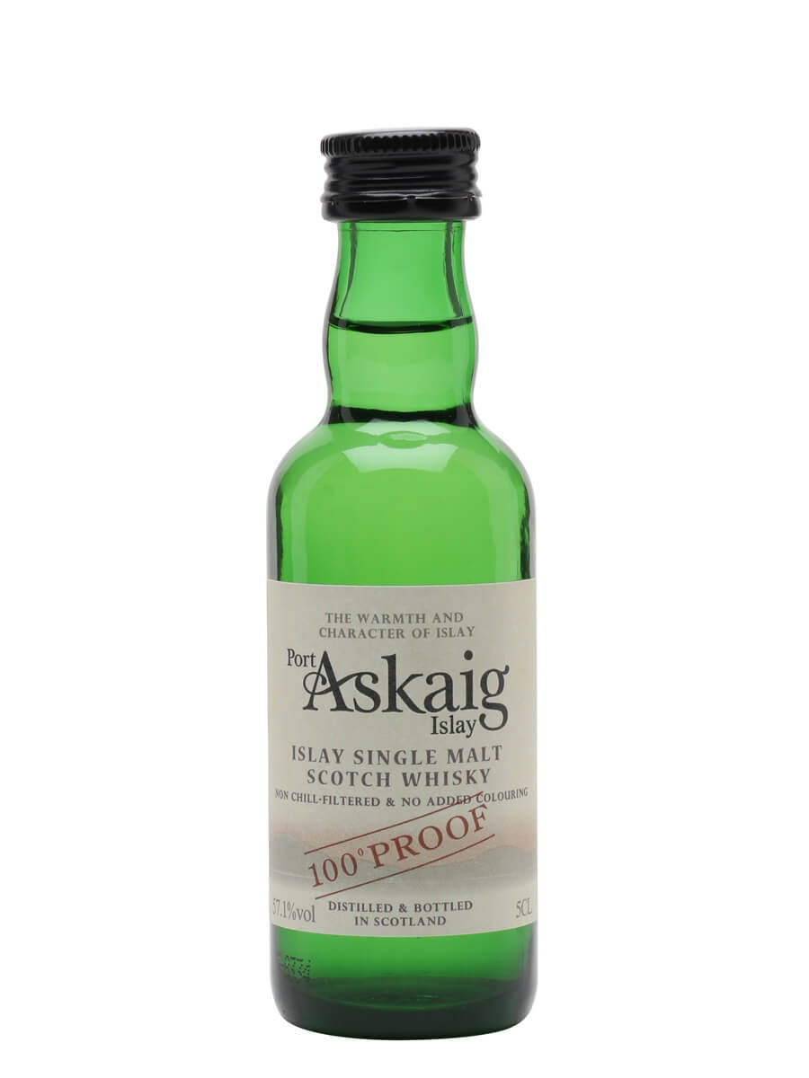 Port Askaig 100 Proof Miniature