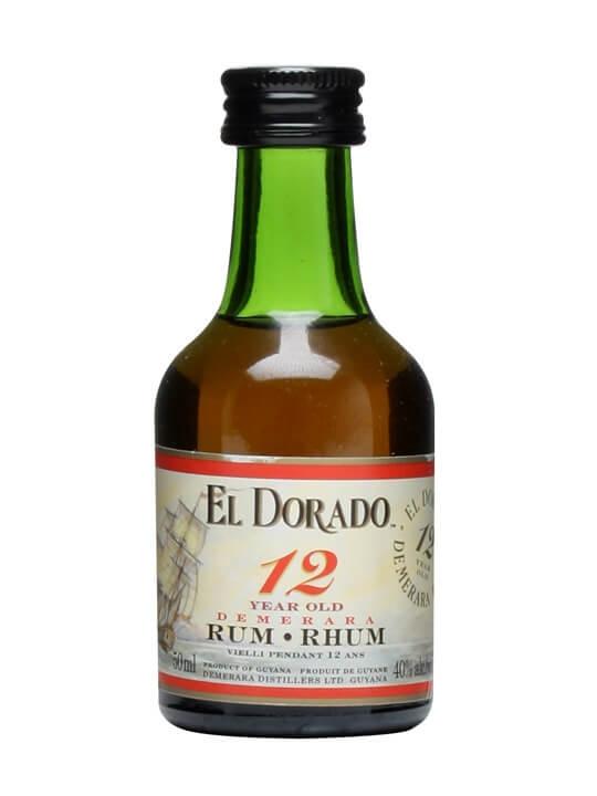El Dorado 12 Year Old Rum Miniature
