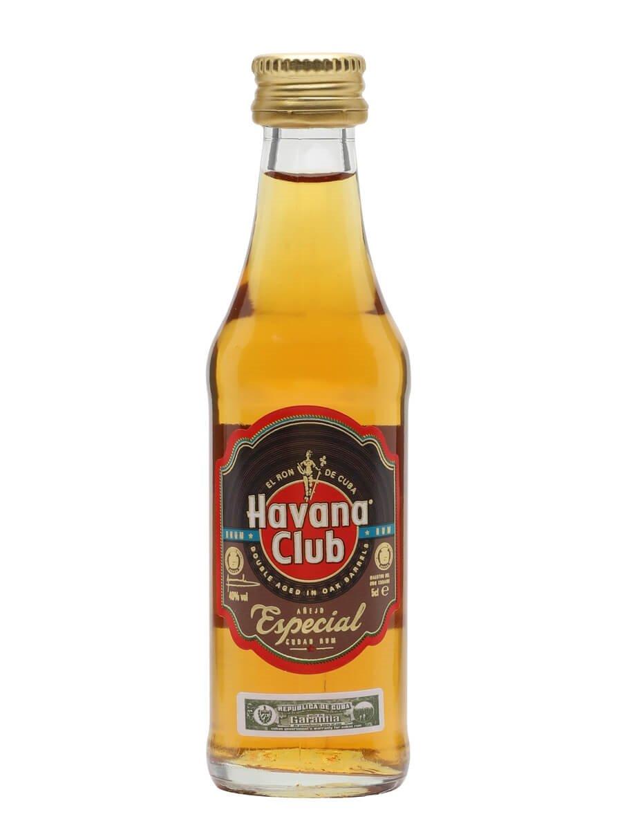 Havana Club Anejo Especial Rum Miniature