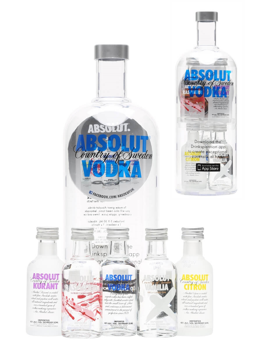 Absolut Naturals Vodka Mini Gift Pack