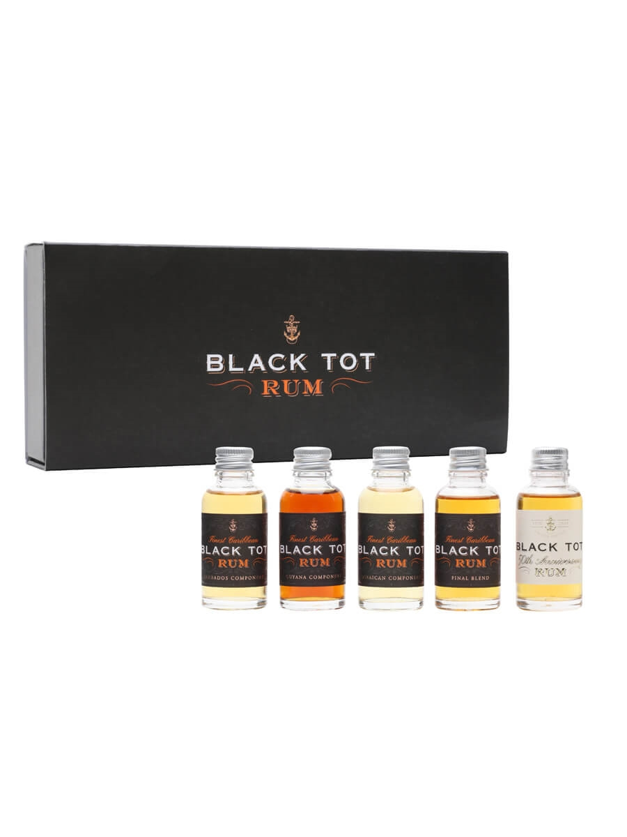 Black Tot 50th Anniversary Miniature Gift Set