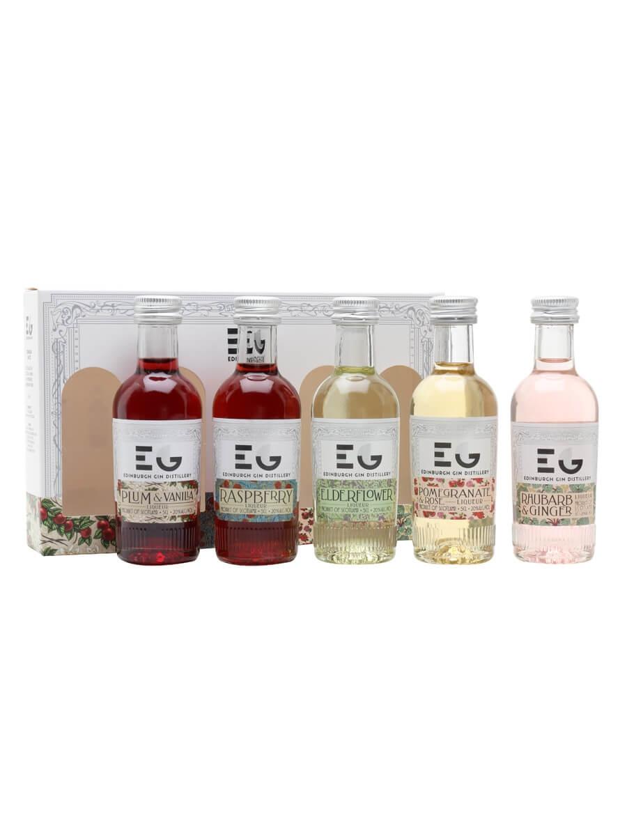 Edinburgh Gin Liqueur Miniature Set / 5x5cl