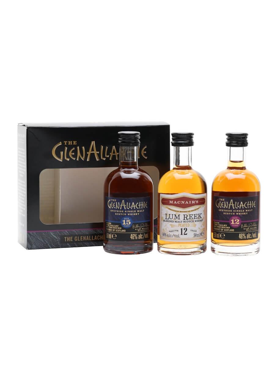 Glenallachie Miniature Gift Set / 3x5cl
